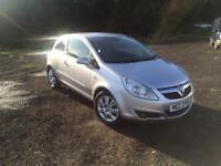 Vauxhall corsa 1.2 design with only 37k miles and mot to june 2018