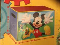 MICKY MOUSE CLUBHOUSE TOY BOX