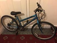 """Adult bike 24"""" inch wheels blue"""