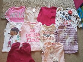 Bundle of Girls tops - Age 3