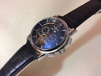 New Patek Philippe Tourbillon Automatic Watch, See through back