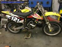 Suzuki RMZ 250 scrambler dirt bike