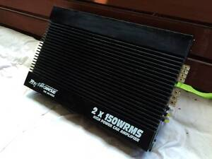 Response Precision 2 x 150WRMS Class AB Amplifier Endeavour Hills Casey Area Preview