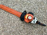 "Stihl HS 81R Double Sided 27"" hedge trimmer."