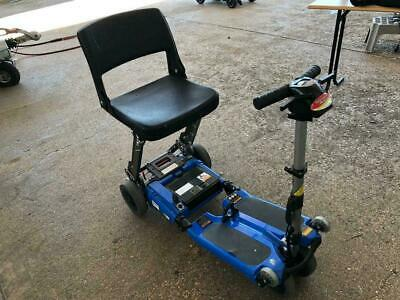 LUGGIE BLUE Folding Travel Mobility Boot Scooter