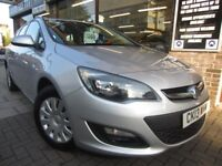 VAUXHALL ASTRA 1.7 CDTi 16v Exclusiv 5dr (silver) 2013
