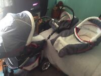 Bergsteiger Capri pushchair pram 3 in 1 BARGAIN