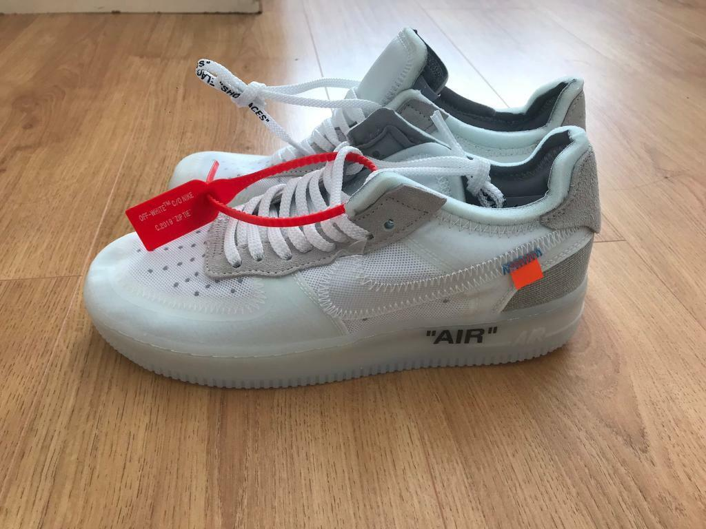 sneakers for cheap pretty cheap lowest price Nike Air Force One Off White | in Twickenham, London | Gumtree