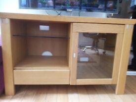 Solid oak tv unit by Casamass Gamma oak contemporary H 66 x 106L x 47D cm