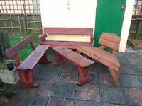 4 Garden Benches for Sale
