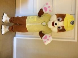 UK SELLER Brand New look alike Rubble Mascot Costume fancy dress Dog Dress