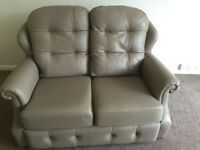G plan two seater sofa nearly new