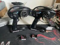 Traxxas TQI 2.4ghz Rc controllers