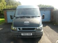 Ford transit camper may px PRICE LOWERED NEEDS TO GO