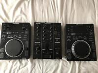 CDJ-350s and DJM-350