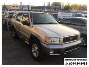 2001 Nissan Pathfinder LE 4WD; Local BC vehicle!