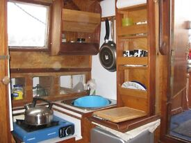 Colvic Watson Motor Sailer, 20ft. Inboard diesel, cabin, galley, toilet, lowering mast, handy rig.