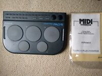 Roland Handypad Pad-5 retro MIDI drum controller - with original manual - £60 ONO