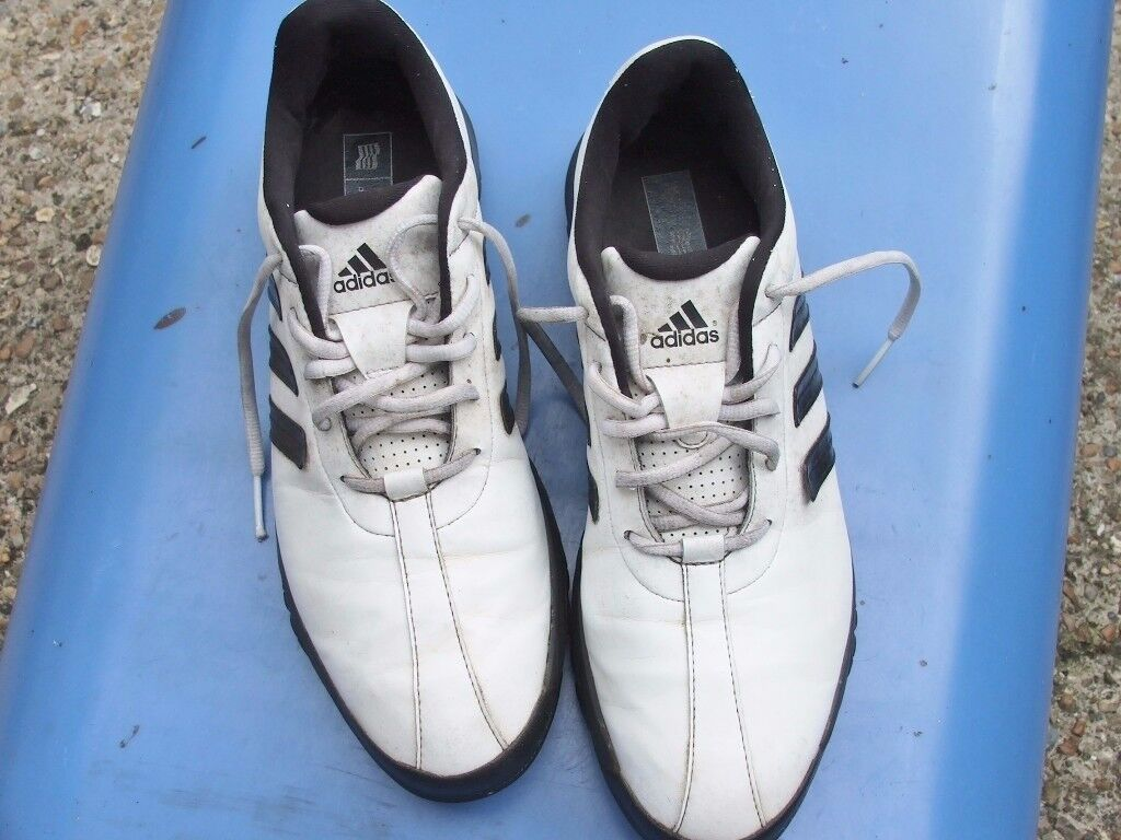 Golf shoes. Adidas size 9 1/2