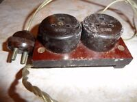 Vintage Light Sockets - As Seen - Ideal Prop