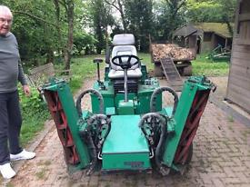Ransome 3 gang mower- recently overhauled