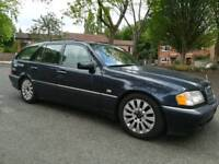 MERCEDES C300 V6 AUTOMATIC ESTATE - 2 PREVIOUS OWNERS - LONG MOT - QUICK SALE WANTED - £785