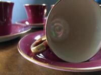 Set 6 coffee cups