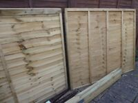 Fencing panels , posts and fixings