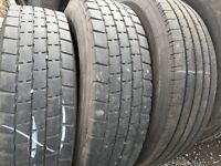 Second hand tyres - truck tyres for export