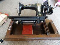 Jones sewing machine-£25