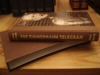 Folio Society Book - The Zimmerman Telegram - Barbara Tuchman