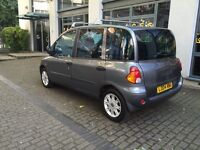 Fiat Multipla ELX JTD 1.9 diesel 2004, great family car