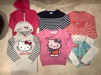 Bundle of Girls Jumpers-Hoodies-Cardigans- *6-8 Years*