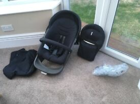 Stokke Xplory V3 push chair and carrycot full set Collection ONLY