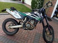 Rieju enduro 450 (yamaha WR450F engine) 2011 road legal motorcycle