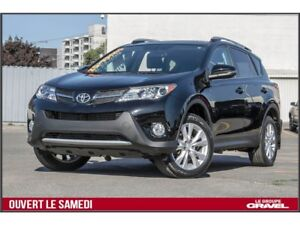 2015 Toyota RAV4 LIMITED 4WD - CUIR DEUX TONS - BLUETOOTH - TOIT