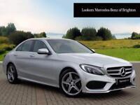 Mercedes-Benz C Class C220 D AMG LINE PREMIUM PLUS (silver) 2016-06-20