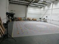 LARGE WAREHOUSE PHOTOGRAPHY STUDIO / FASHION/ SET BUILDS/ CREATIVE SPACE/ ART