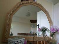Laura ashley mirror very large and heavy cost 360 new