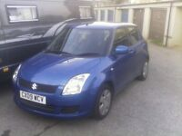 Suzuki Swift 1.3 GL 5dr, 115k 3 owners. In exelent condition, needs clutch, starts and drives.