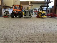Various Lego Technic Models.