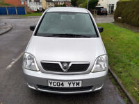 2004 Vauxhall Meriva 1.6 Two Former Keepers Drives Well