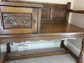 Oak Old Charm Telephone Table