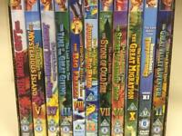 11x rare used Land Before Time Dinosaur DVDs children's rare Animation SDHC *SOLD*