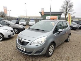 2010 Vauxhall Meriva 1.4 i 16v S 5dr /Finance Available / Year MOT / 3 Month RAC Warranty Included