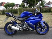 Yamaha YZF-R125 125cc with 3200 Miles Only