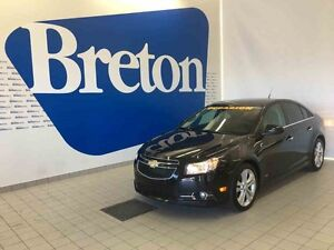 2014 CHEVROLET CRUZE LT TURBO 2LT CUIR - TOÎT OUVRANT - MAGS 18""