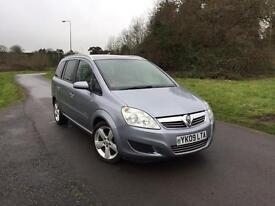 Vauxhall Zafira 1.6 petrol ⛽️ 12 month mot