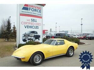 1972 Chevrolet Corvette Stingray - RWD, 3-Speed A/T, 50,269 KMs