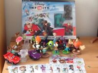 PS3 Disney Infinity Starter pack, other figures and cards
